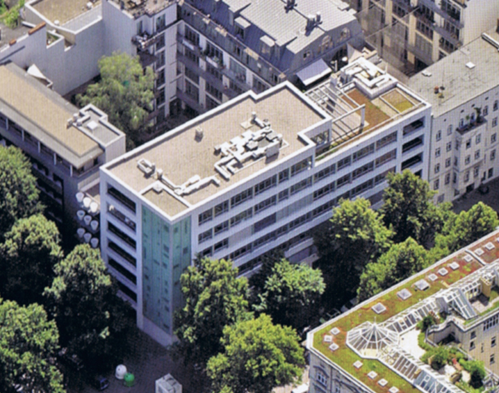 Paul Linke Höfe - Luftbild - Ausschnitt